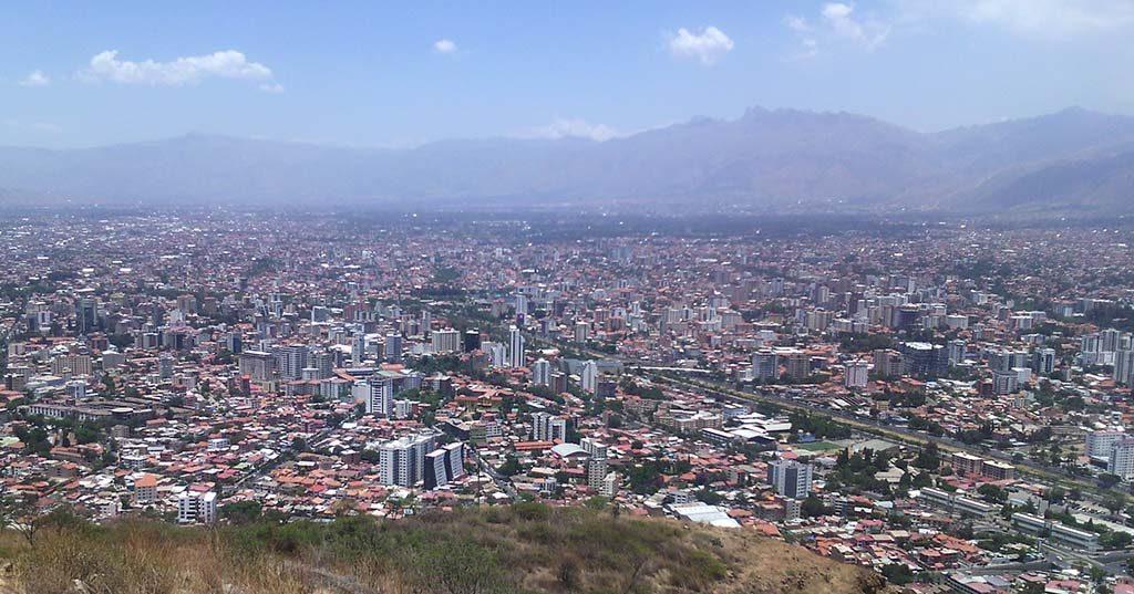 cidade boliviana de cochabamba