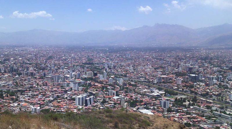 mirador cochabamba bolivia