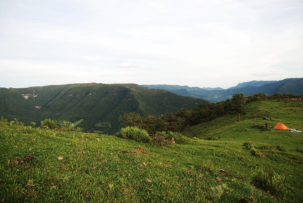 barraca montanhas