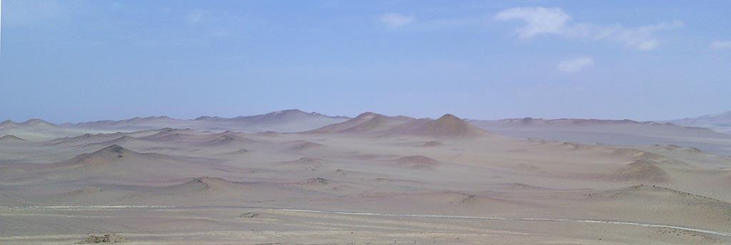deserto reserva paracas peru