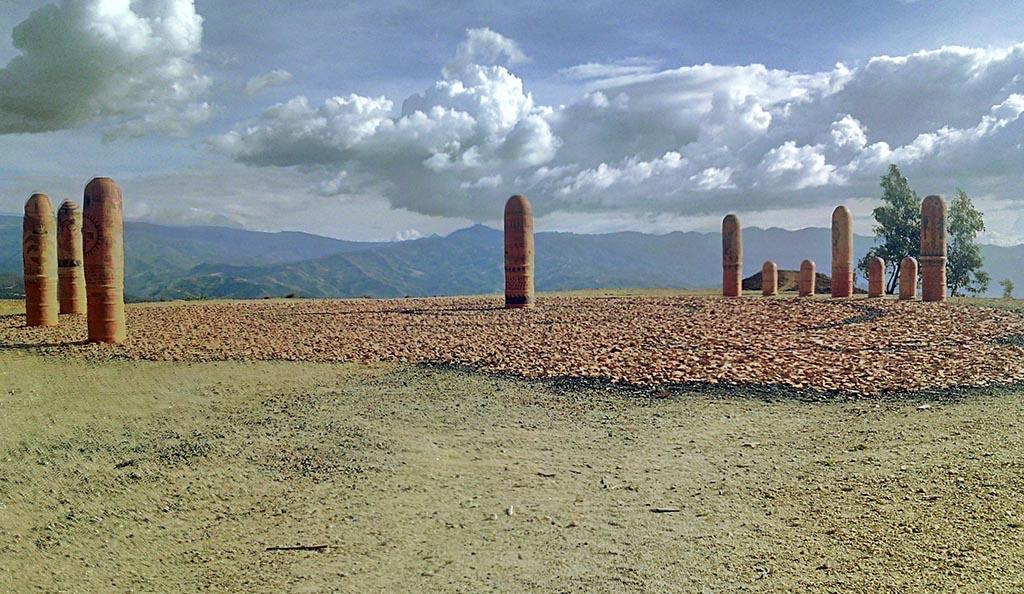 estatuas lugar sagrado