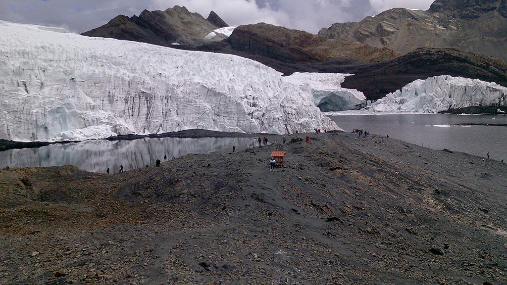 nevado glacial pastoruri huaraz