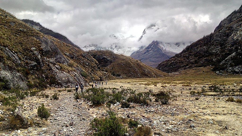 trekking huaraz aventura