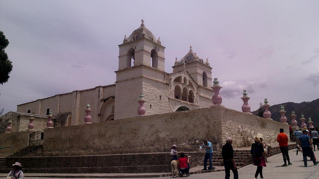 Igreja de Mapa no vale del colca