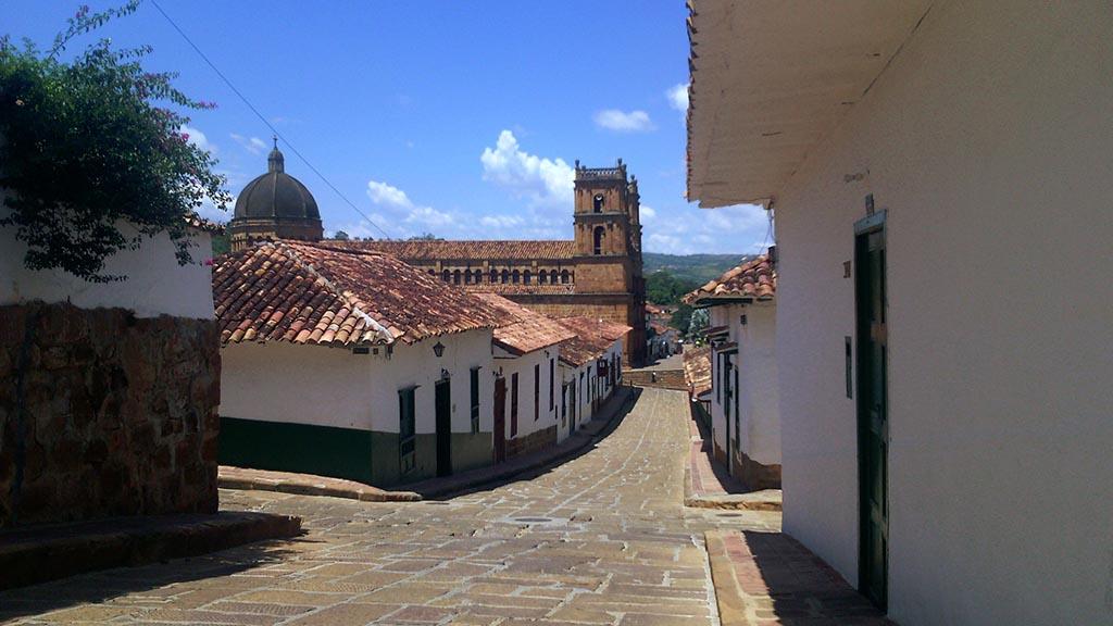 ruas cidade barichara