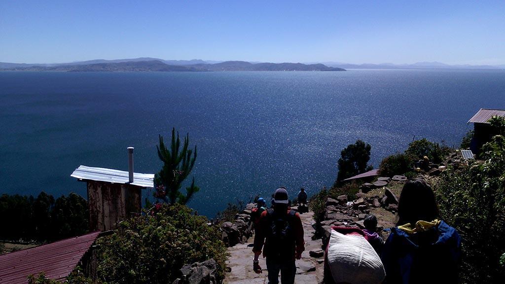 lago titicaca taquile