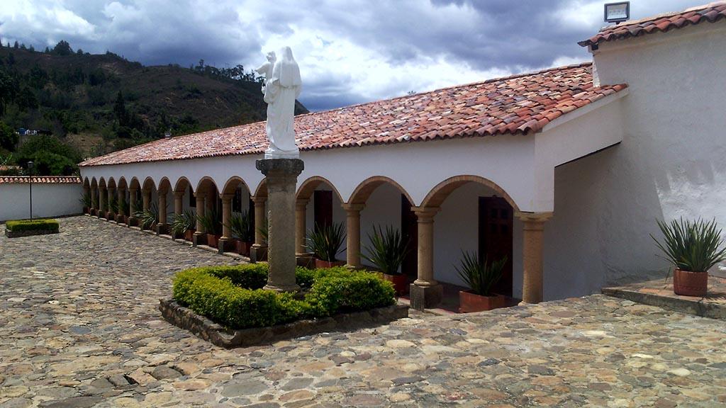 construção monasterio candelaria