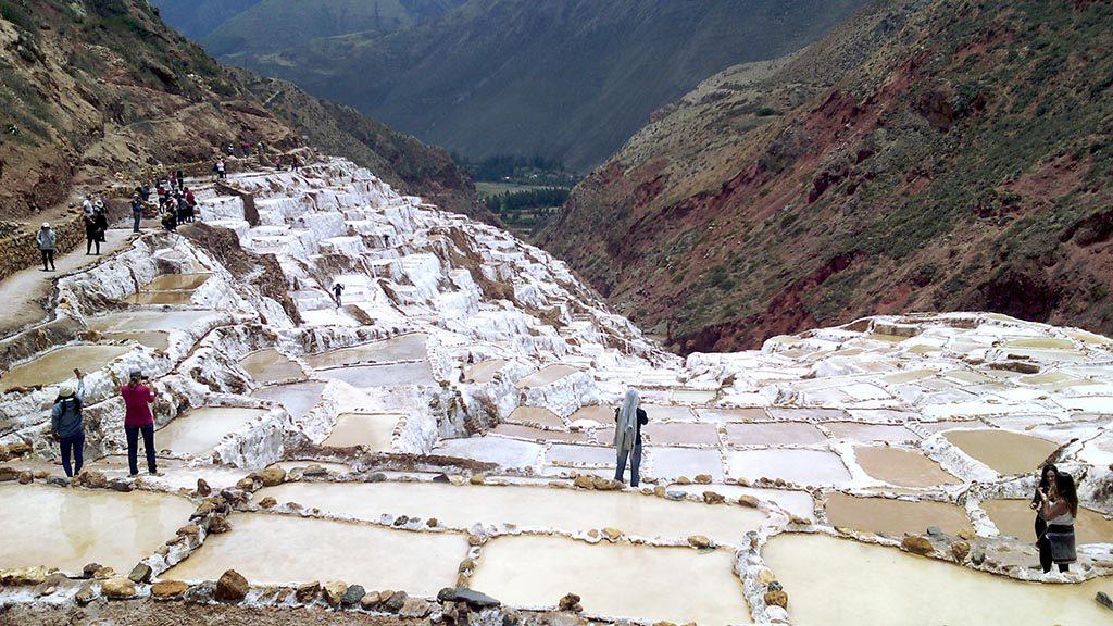 salinera de Maras Peru como chegar