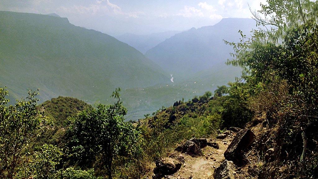 trilha canion chicamocha