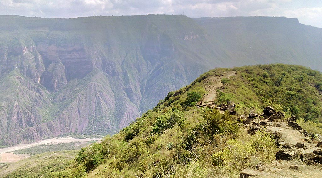 trekking canion del chicamocha