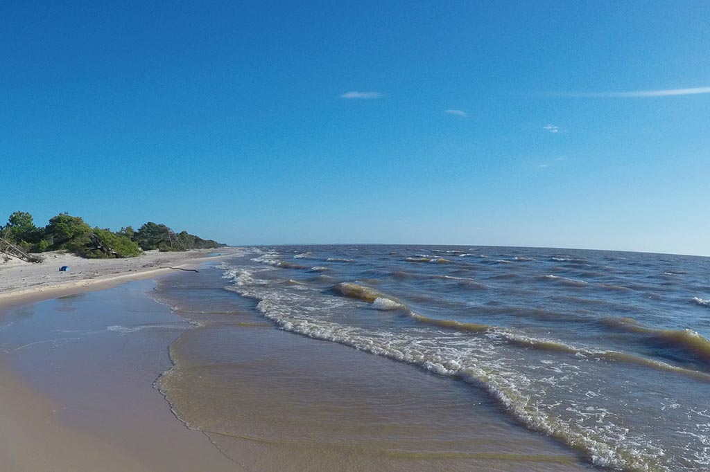 praia de foralagoa dos patos tapes