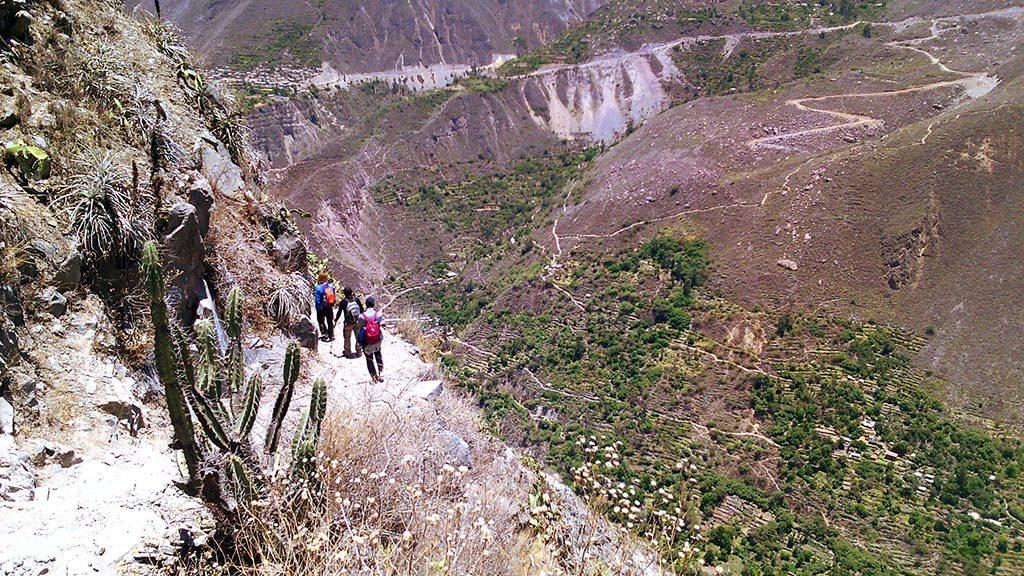 trilha de longo curso trekking