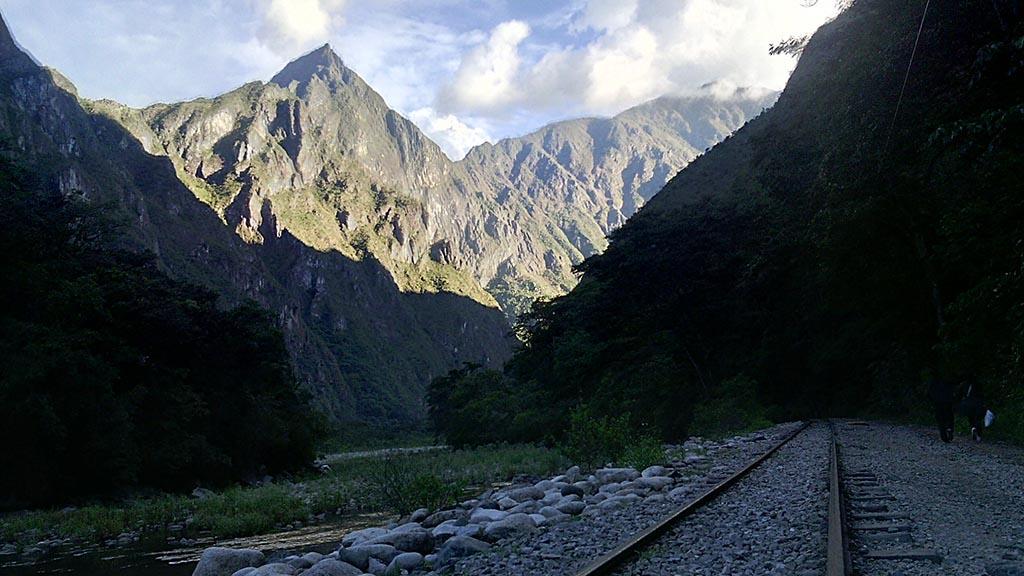 trilo de trem montanha