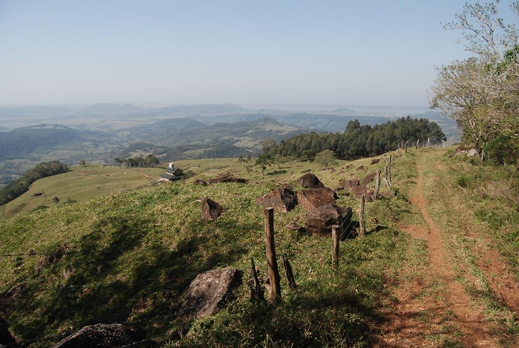 estrada montanhas