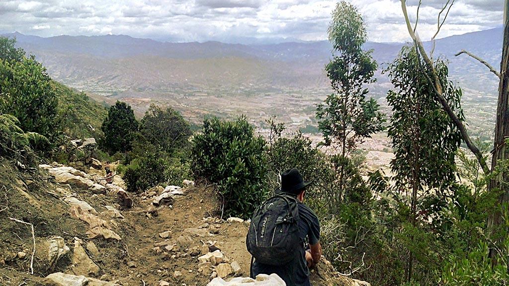 trilha caminho iguaque parque nacional colombiano