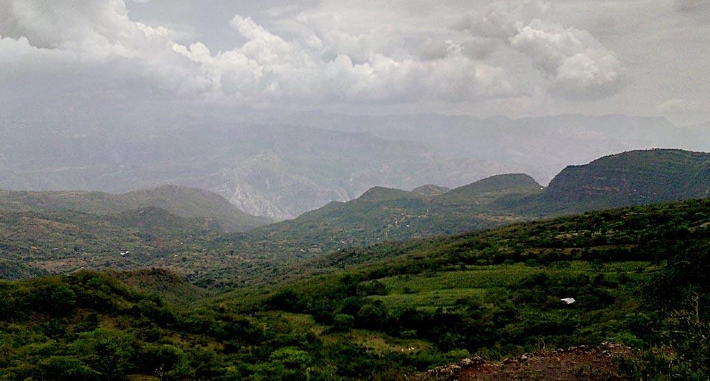 paisagem montanhas