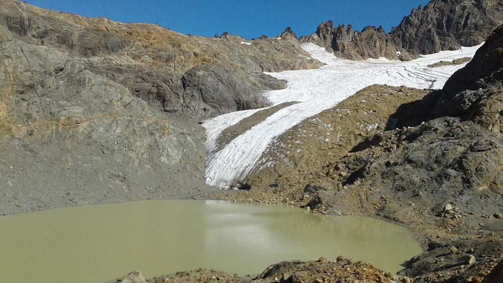 glacial hielo azul