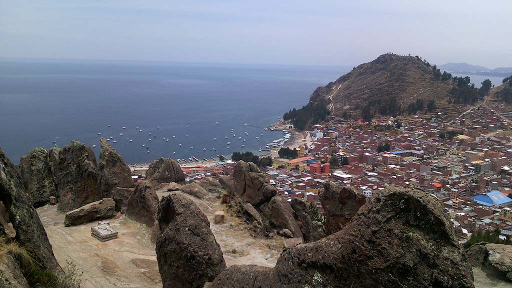 mirador lago titicaca bolivia