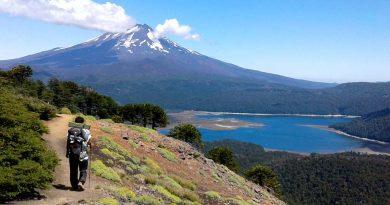 vulcão lago pessoa
