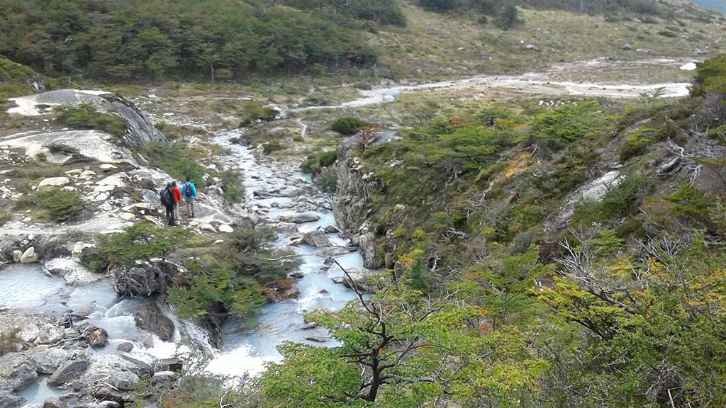 trilha laguna esmeralda