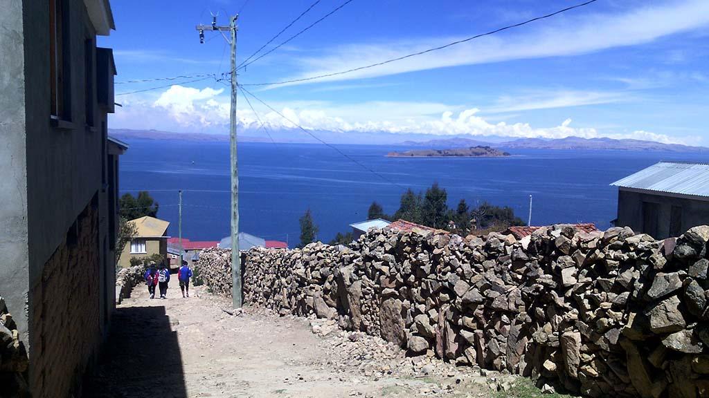 como chegar na isla del sol bolívia