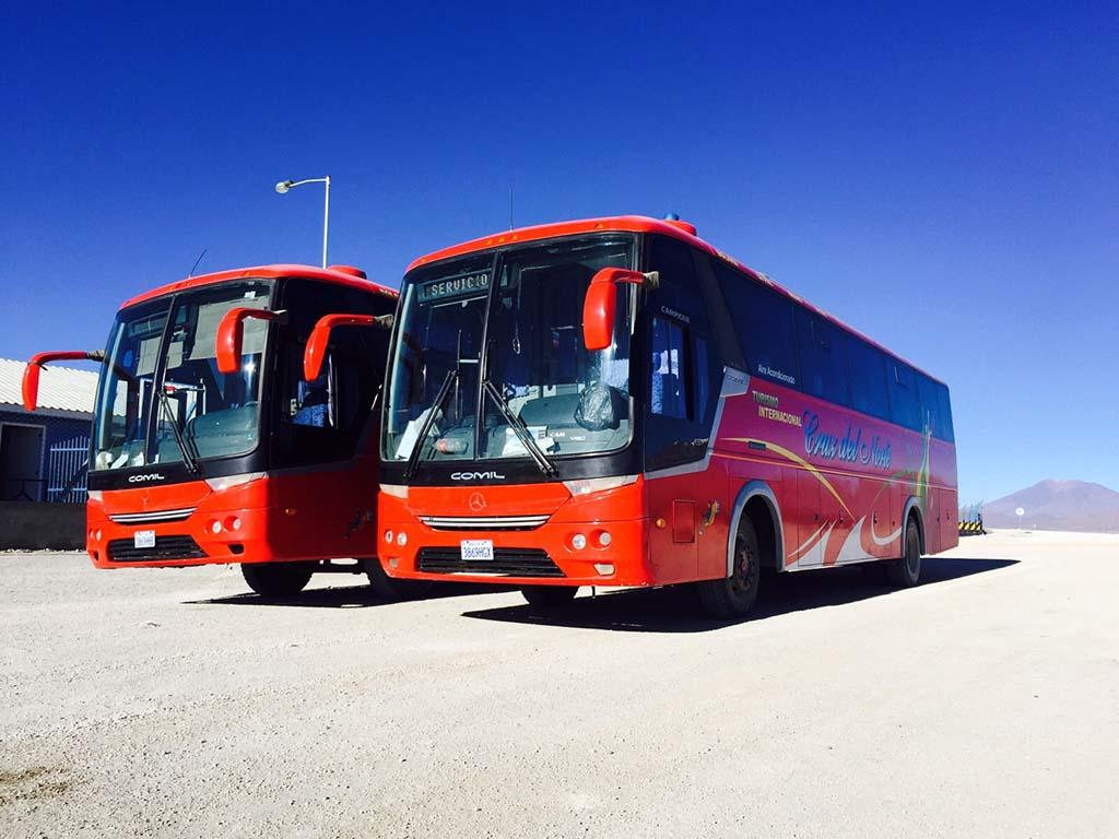 viajar de ônibus na Bolívia