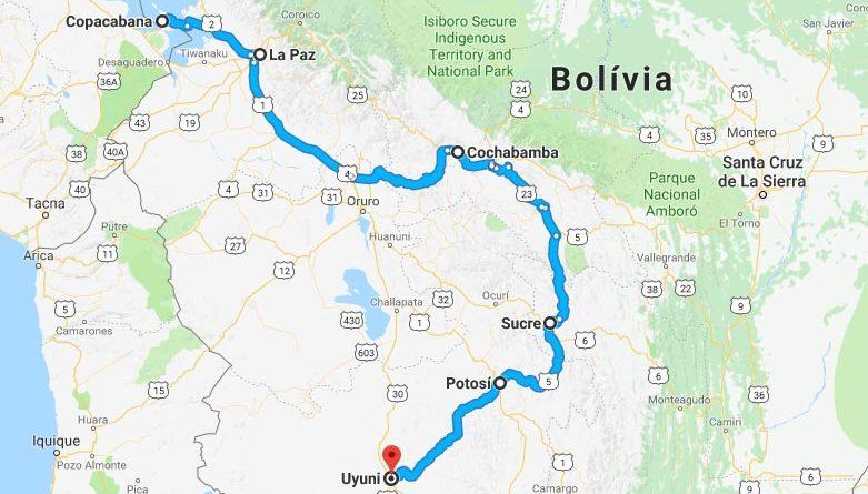 roteiro bolivia o que fazer