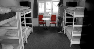 como é ficar em um hostel