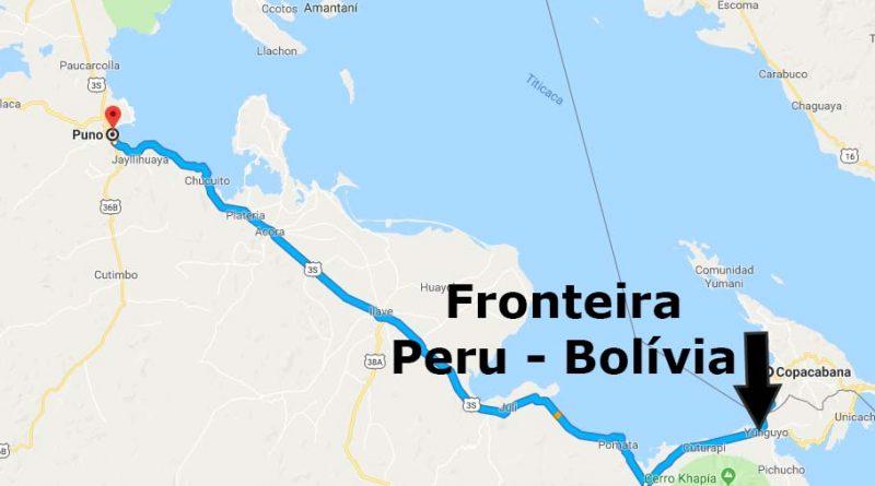 fronteira peru bolivia de onibus