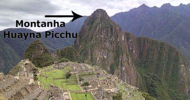 o que é a montanha Huayna Picchu