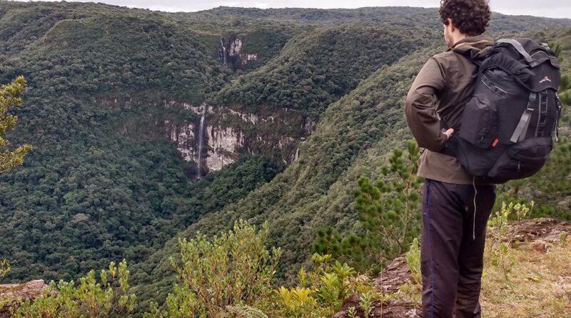 trekking no rio grande do sul rs brasil