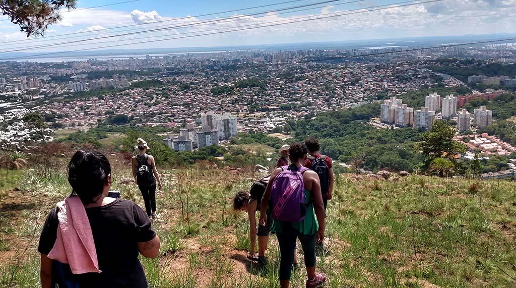 trilha no morro santana porto alegre