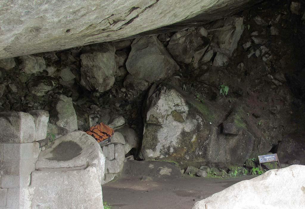 Templo de la Luna caminho huayna picchu